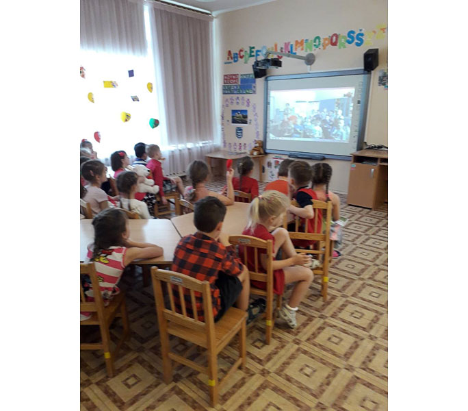 Телемост связал детсадовцев из Таллинна и Нарвы