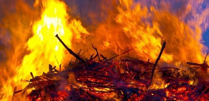 При пожаре в Ленобласти погиб житель Таллинна
