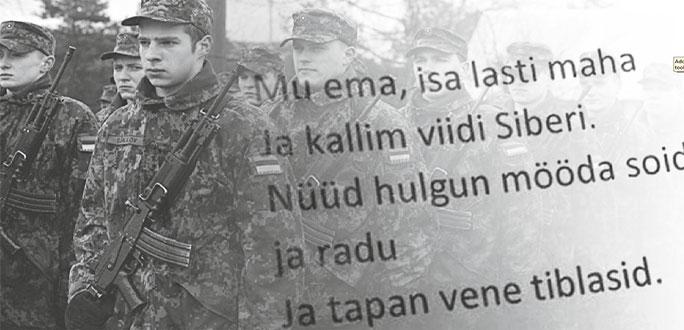 Русские срочники возмущены тем, что им предлагают петь: «убиваю русских тибл»
