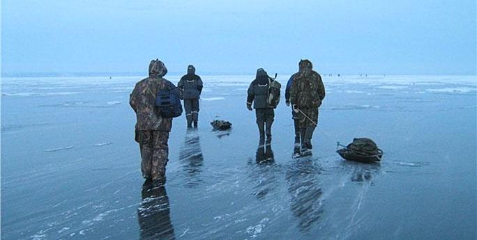 Четыре человека нарушили границу на Чудском озере