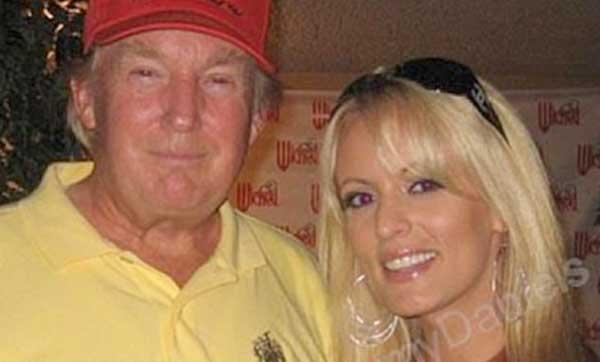 Порноактриса готова заплатить Трампу 130 тысяч долларов за право рассказывать об их связи