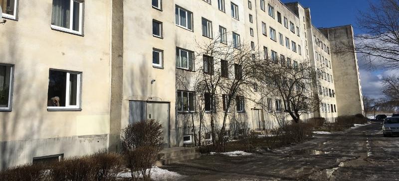В Кохтла-Ярве в трех жилых домах  выявлены трещины
