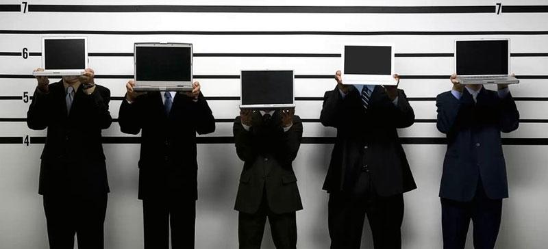 Полиция задержала подозреваемого в киберпреступлениях мужчину