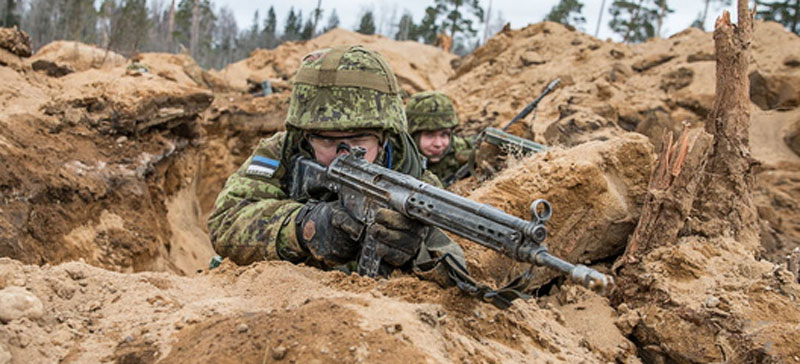 Эстония планирует участие в военной операции под командованием Франции