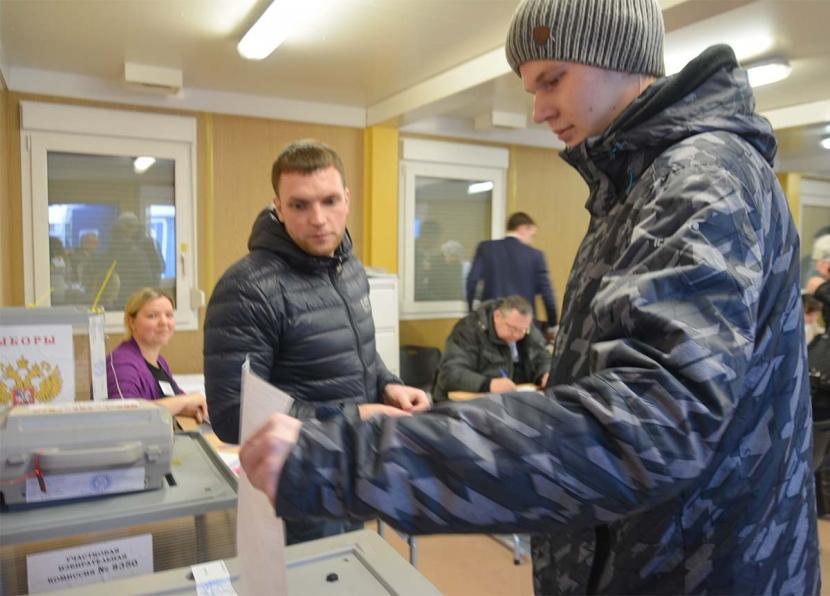 95% проголосовавших российских граждан Северо-Востока Эстонии отдали свои голоса Владимиру Путину