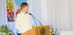Столетие Республики в Нарве: в компании с президентом