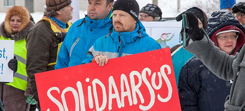 В понедельник прекращается забастовка на Раквереском мясокомбинате