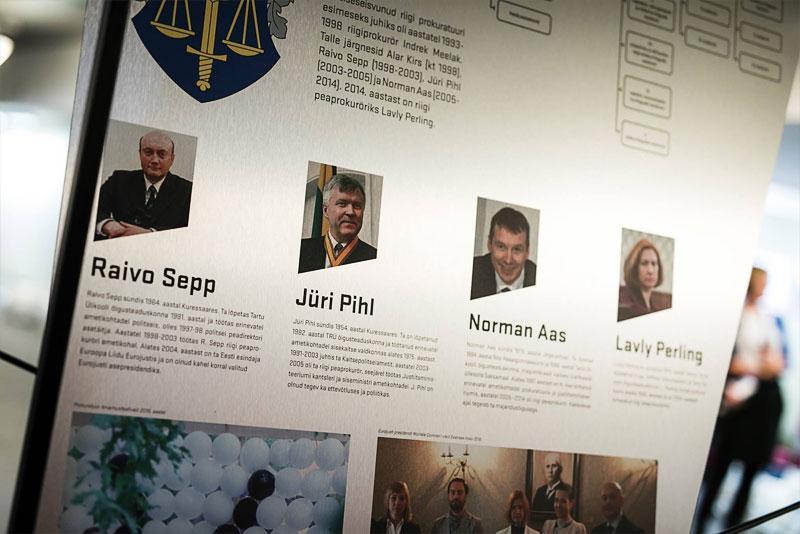 В Нарвском колледже откроется выставка, рассказывающая об истории прокуратуры Эстонии