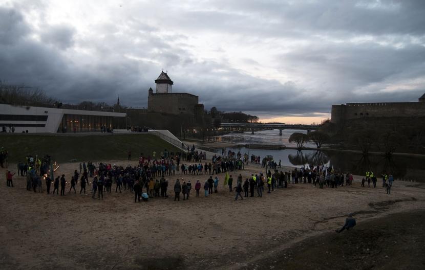 +Галерея. В Нарве прошли заключительные мероприятия слета русских скаутов Эстонии