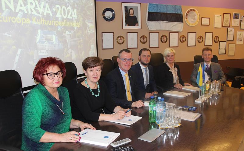 Нарва и Союз  самоуправлений уезда  подписали договор  о сотрудничестве