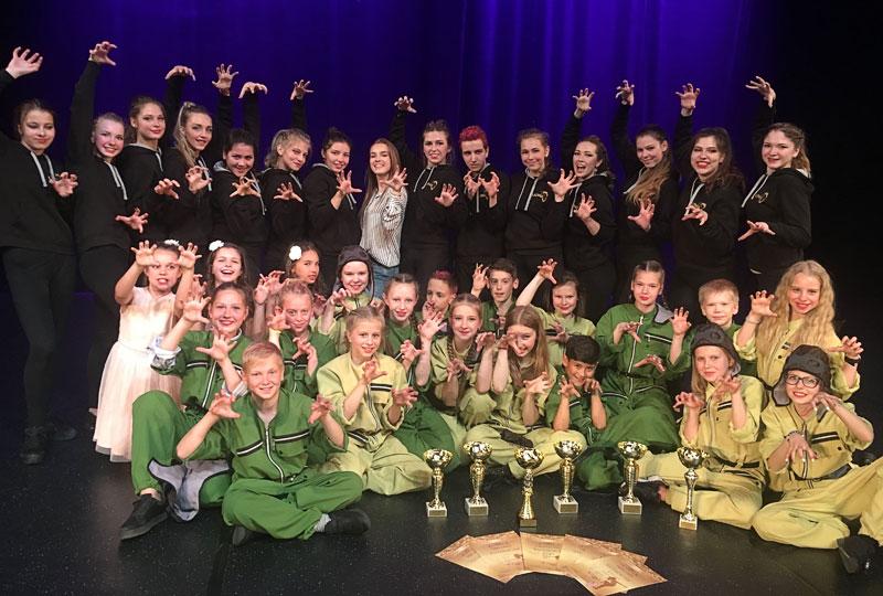 Танцевальная студия «Lions» получила гран-при международного конкурса