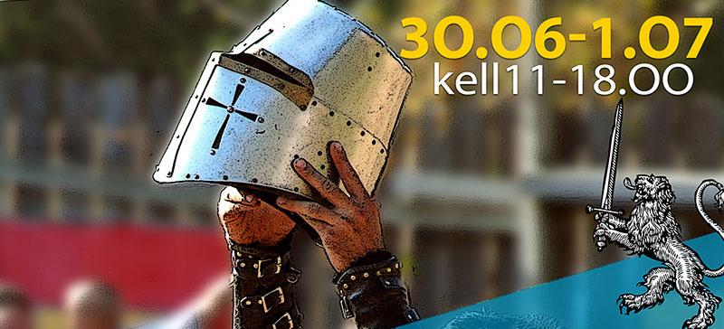 Окунись в историю на Нарвском средневековом фестивале!