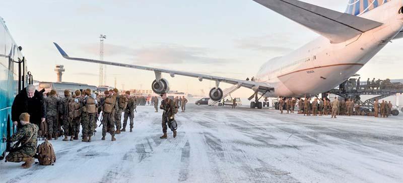 США удвоят число морпехов вблизи норвежско-российской границы