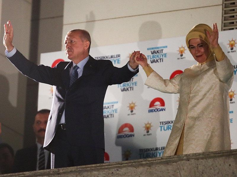 Избирком Турции объявил о победе Эрдогана на выборах