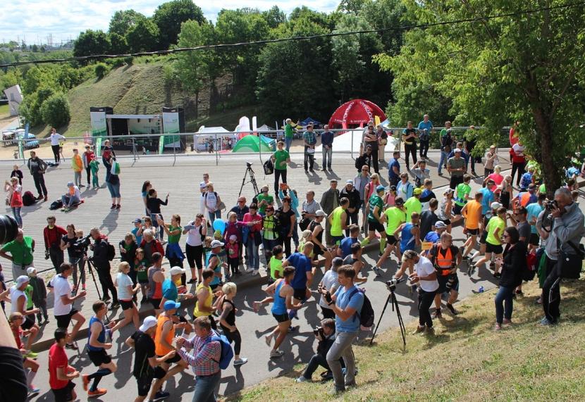 Галерея. Нарвский энергетический забег: соревновались более 2500 профессионалов и любителей