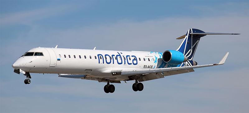 Эстонская авиакомпания Nordica завершила 2017 год с прибылью около 0,9 миллиона евро