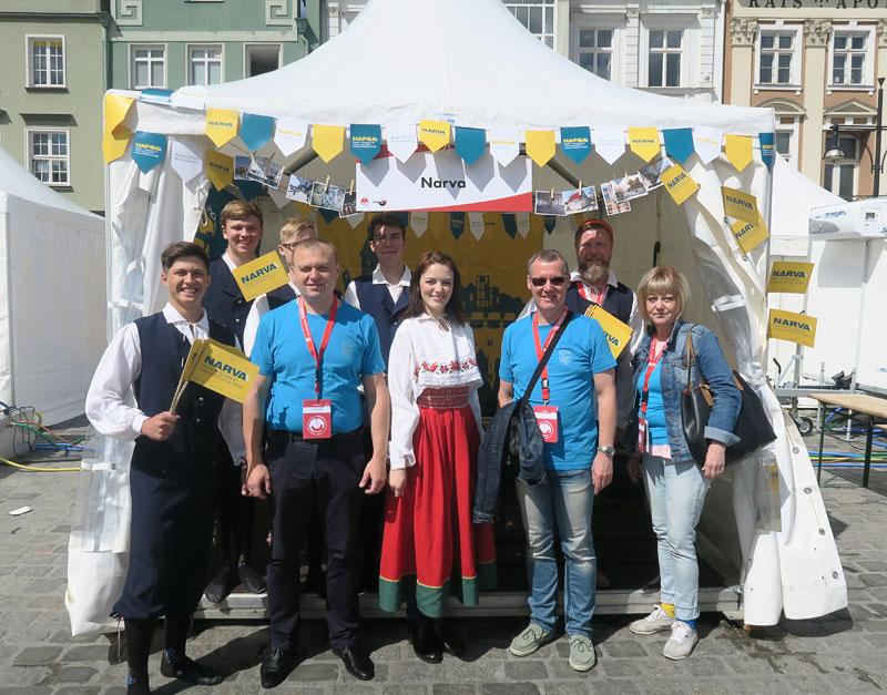 Делегация Нарвы посетила 38-ые Международные Ганзейские дни в Ростоке