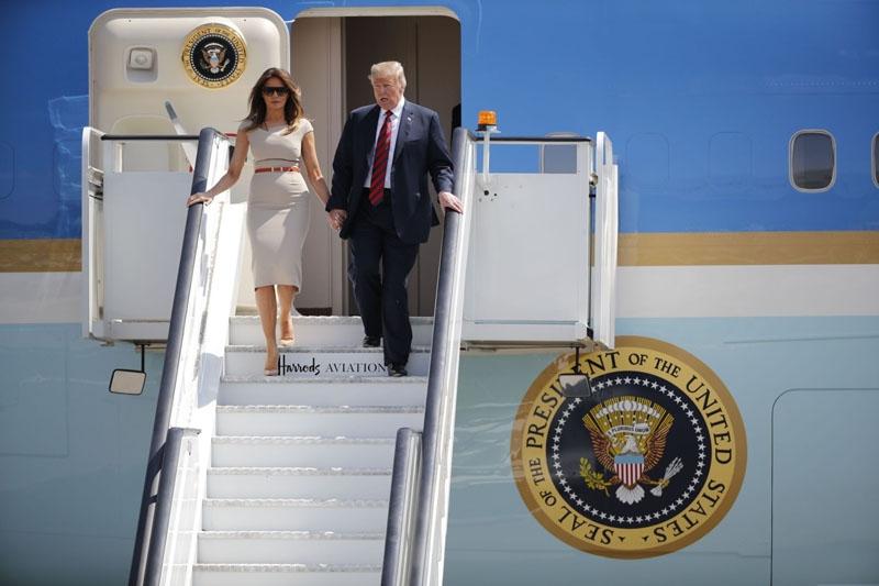 Во время визита Трампа в Хельсинки его запасной самолет приземлится в Таллинне