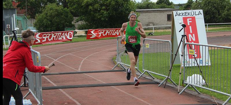 Сто пять кругов марафонской дистанции преодолены трижды