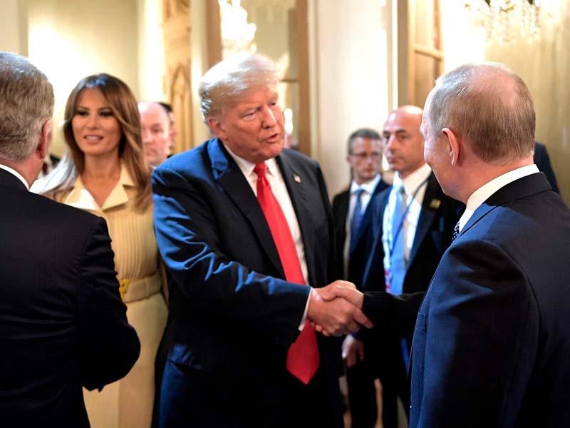 """Трамп """"с нетерпением"""" ждет новой встречи с Путиным"""