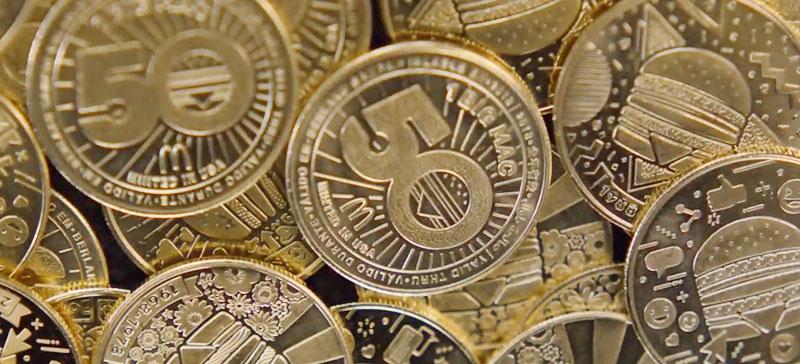 McDonald's® представляет общественности ограниченный выпуск коллекционного Биг Мак® монеты в ознаменование 50-летия БигМака®