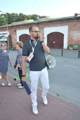 Галерея. Фестиваль Baltic Sun: легендарная джаз-яхта прибыла в Нарвский порт