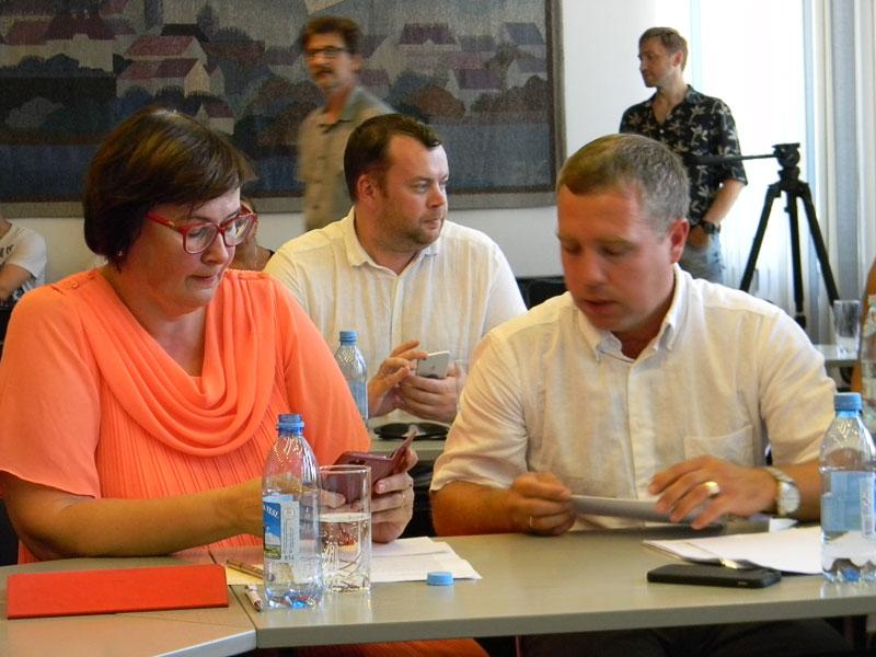 Председателя Нарвского городского собрания не выбрали