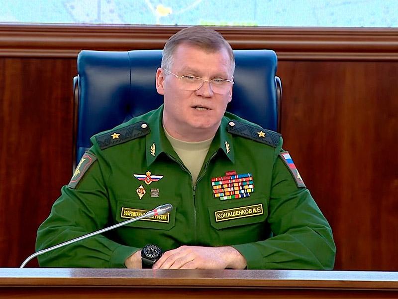 """Минобороны РФ: """"англоязычные специалисты"""" планируют нанести удар боеприпасами с отравляющими веществами в Сирии"""
