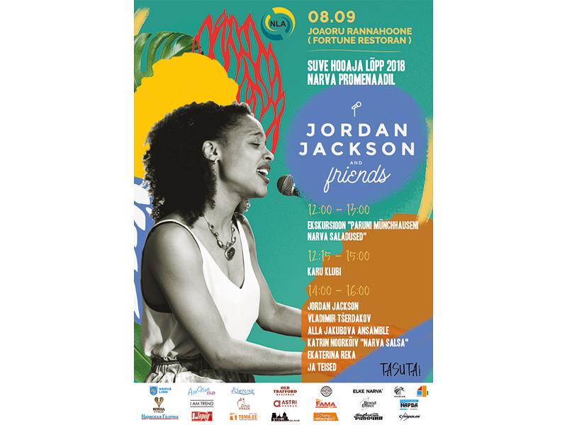 """Закрытие летнего сезона 2018 - концерт """"Jordan Jackson and Friends"""""""