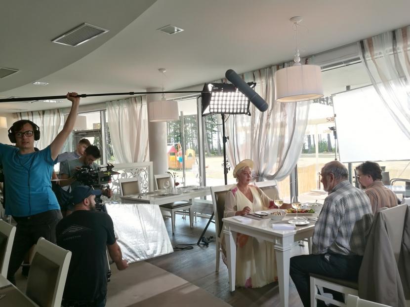 +Галерея. В Нарва-Йыэсуу снимали первый в Эстонии русскоязычный сериал