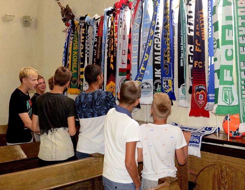 «Эстонские розы» радуют болельщиков футбола
