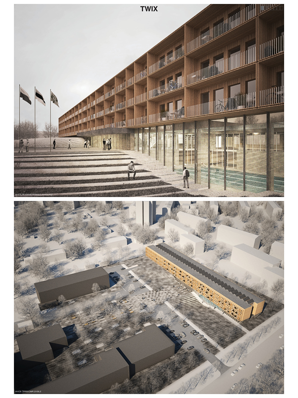 Строительство здания Академии внутренней безопасности в Нарве начнется предстоящей зимой