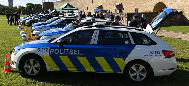 в Нарве и Нарва-Йыэсуу соревнуются полицейские