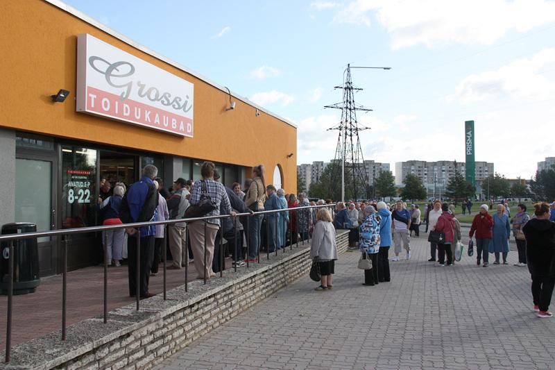 В Нарве на прошлой неделе открылся первый магазин сети Grossi