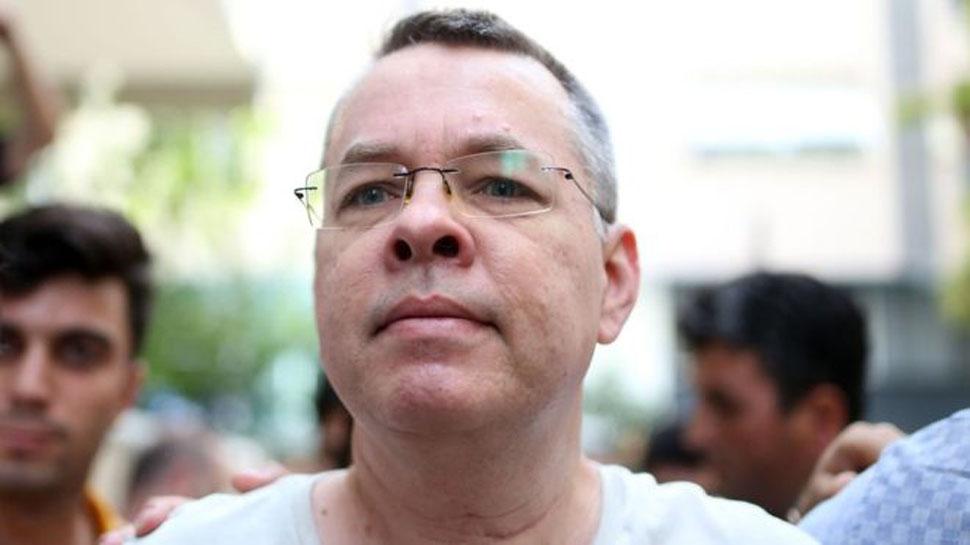 СМИ: США и Турция заключили секретное соглашение об освобождении Анкарой пастора Брансона