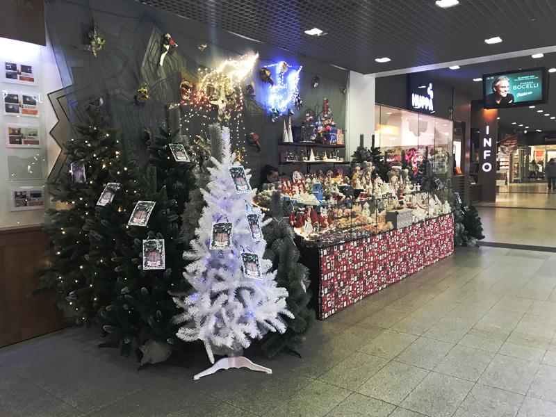 В Нарве появилась первая рождественская елка