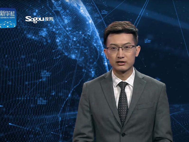 Китайское новостное агентство Xinhua представило диктора новостей с искусственным интеллектом (ВИДЕО)