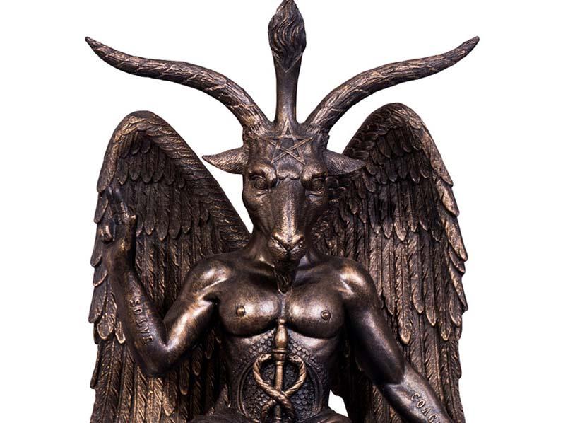 """""""Храм Сатаны"""" судится с создателями сериала """"Сабрина. Жуткие приключения"""" из-за статуи"""