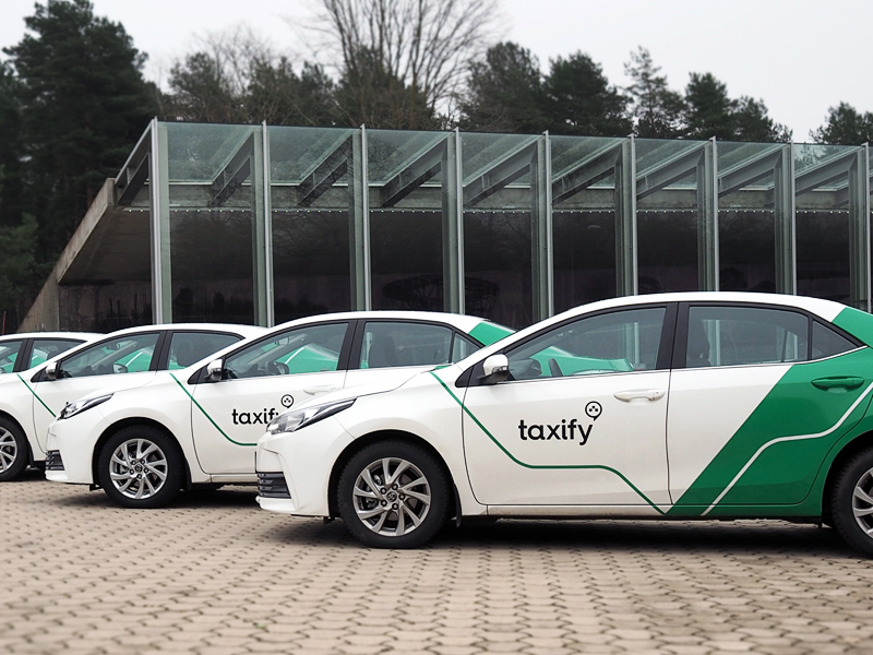 С приложением Taxify стоимость  поездок на такси, возможно, понизится