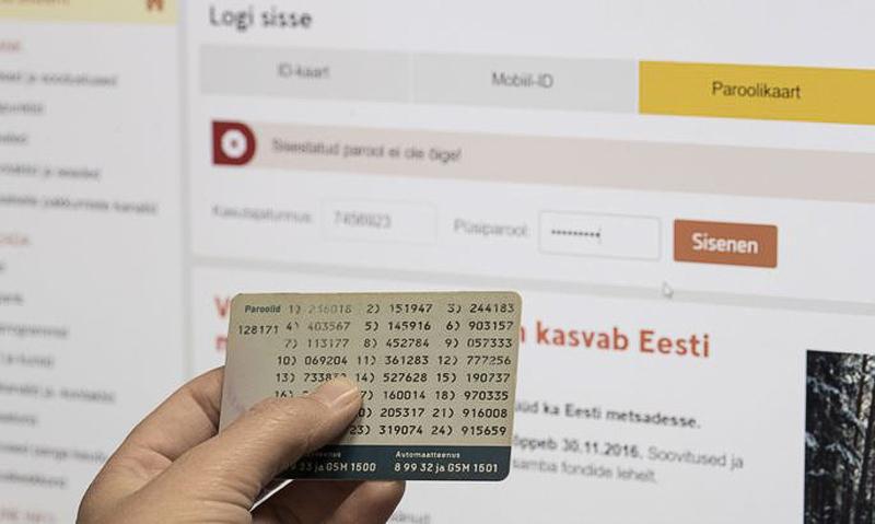 ОПРОС. С карточками паролей расстаются неохотно