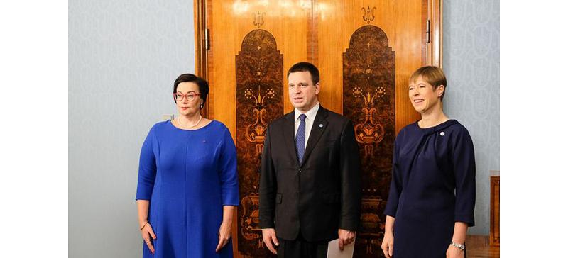 Министр внутренних дел Катри Райк вступила в должность