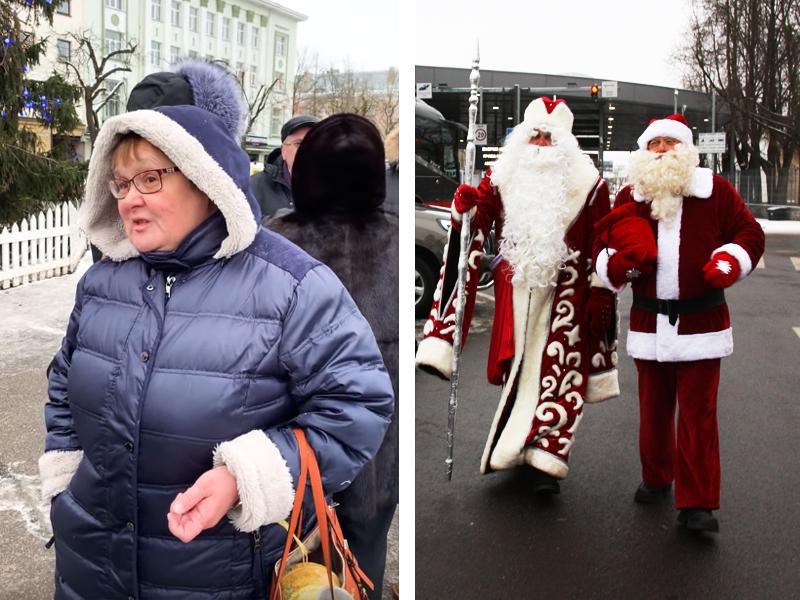 +ВИДЕО. Организаторы о том, зачем встречаются Рождественские деды