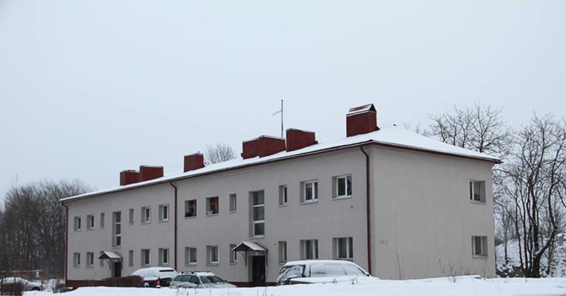 Первый энергосберегающий жилой дом в Нарве: счета за тепло - вдвое меньше