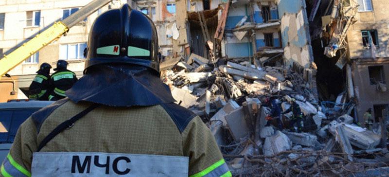 Число погибших при обрушении дома в Магнитогорске возросло