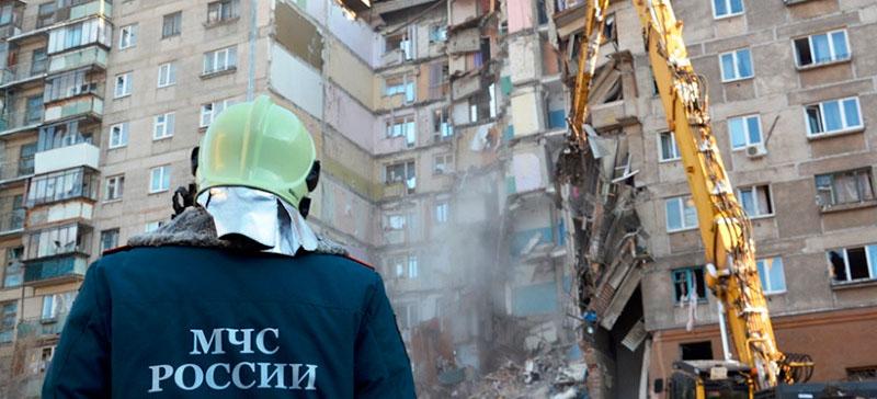 Два подъезда пострадавшего от взрыва дома в Магнитогорске будут снесены