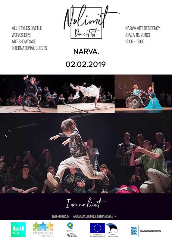 """Международный танцевальный фестиваль """"No Limit Dance Fest"""" первый раз в Нарве!"""