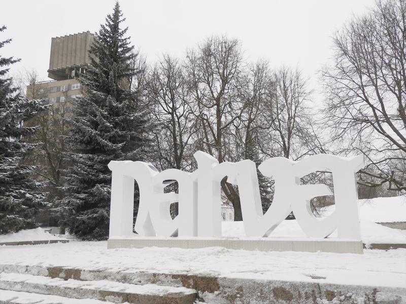 Ремонт буквенной инсталляции NARVA обойдется в 2 тысячи евро или Город собирает информацию о возможных вандалах