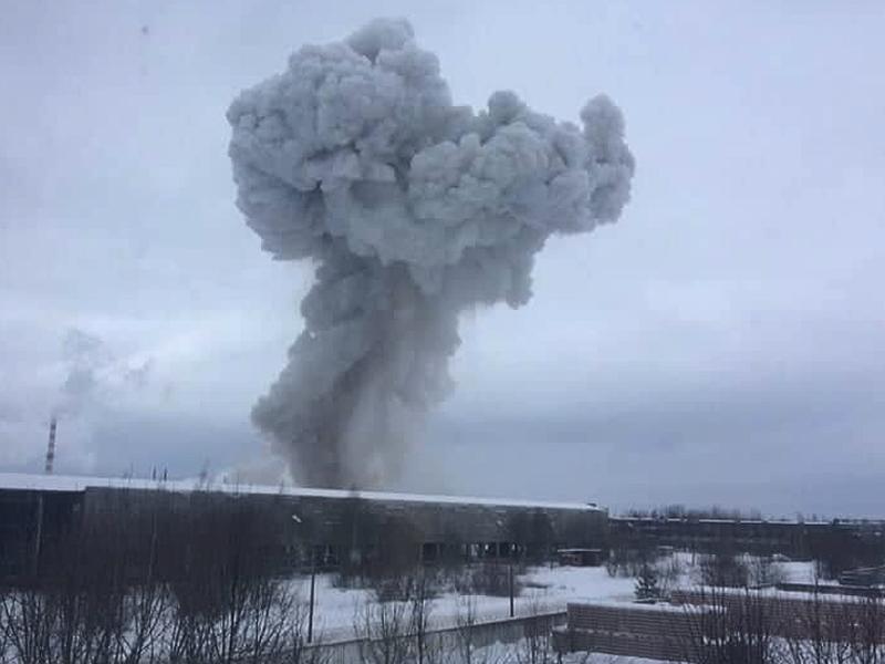 ДОПОЛНЕНО. В Кингисеппе произошел взрыв на заводе