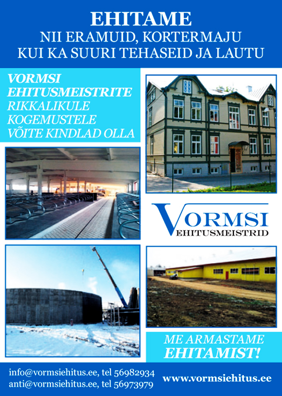 Vormsi ehitusmeistrid