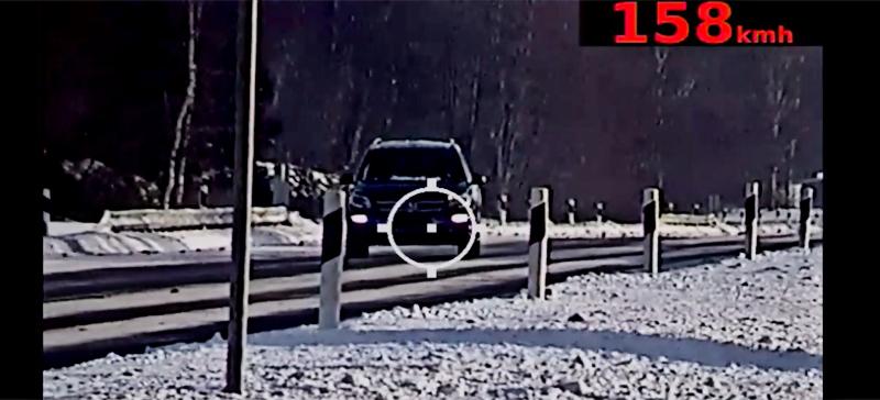Суд назначил превышавшему скорость туристу 6 дней ареста